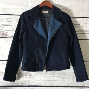 💋 Levi's Made & Crafted Denim Moto Jacket